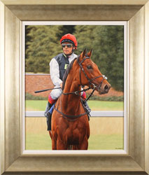 Stuart Herod, Original oil painting on canvas, Cracksman