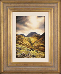 Suzie Emery, Original oil painting on panel, Ennerdale, The Lake District Large image. Click to enlarge