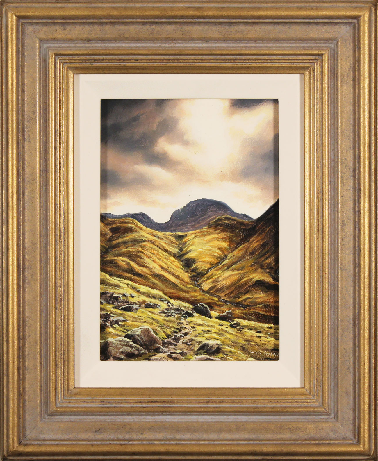 Suzie Emery, Original oil painting on panel, Ennerdale, The Lake District. Click to enlarge