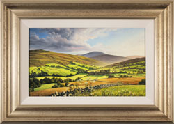 Suzie Emery, Original acrylic painting on board, Swaledale, Yorkshire