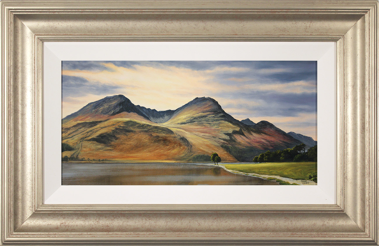 Suzie Emery, Original acrylic painting on board, High Stile, Buttermere , click to enlarge
