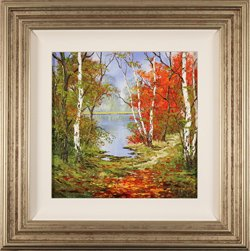 Terry Evans, Original oil painting on canvas, Autumn Days
