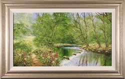 Terry Evans, Original oil painting on canvas, High Summer