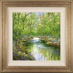 Terry Evans, Original oil painting on canvas, Spring Wood
