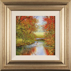 Terry Evans, Original oil painting on canvas, Autumn Wood