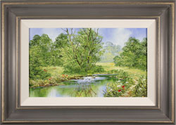 Terry Evans, Original oil painting on canvas, Tranquil Midsummer