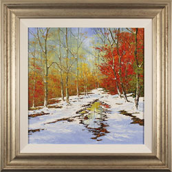 Terry Evans, Original oil painting on canvas, Early Winter