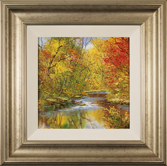 Terry Evans, Original oil painting on canvas, Autumn Gold