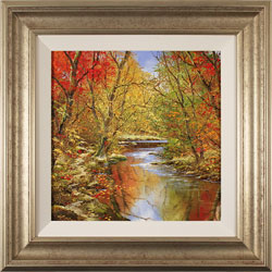 Terry Evans, Original oil painting on canvas, Autumn Trail