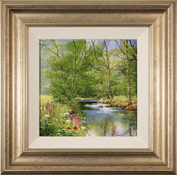Terry Evans, Original oil painting on canvas, Beside the Beck