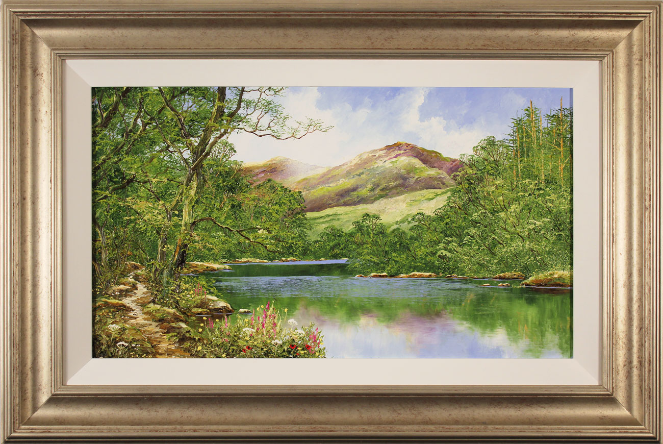 Terry Evans, Original oil painting on panel, On to the Fells, click to enlarge