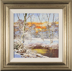 Terry Evans, Original oil painting on canvas, Winter Wood Large image. Click to enlarge