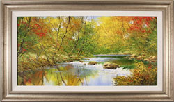 Terry Evans, Original oil painting on canvas, Autumn Symphony Large image. Click to enlarge