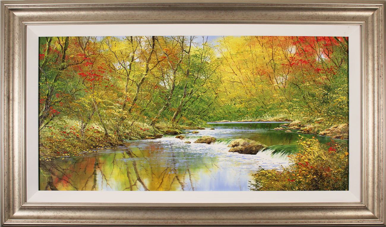 Terry Evans, Original oil painting on canvas, Autumn Symphony. Click to enlarge