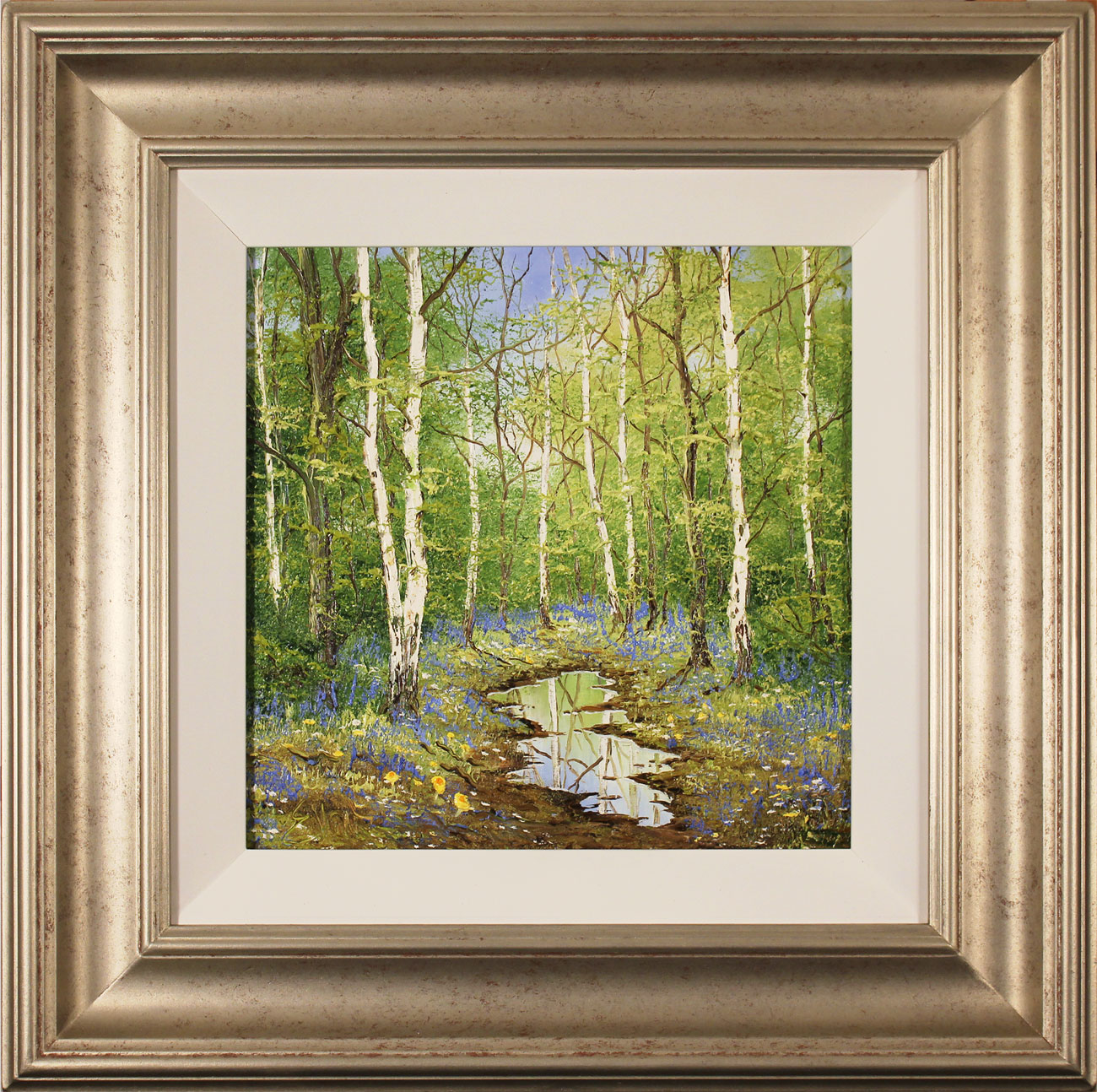 Terry Evans, Original oil painting on canvas, Forgotten Forest. Click to enlarge
