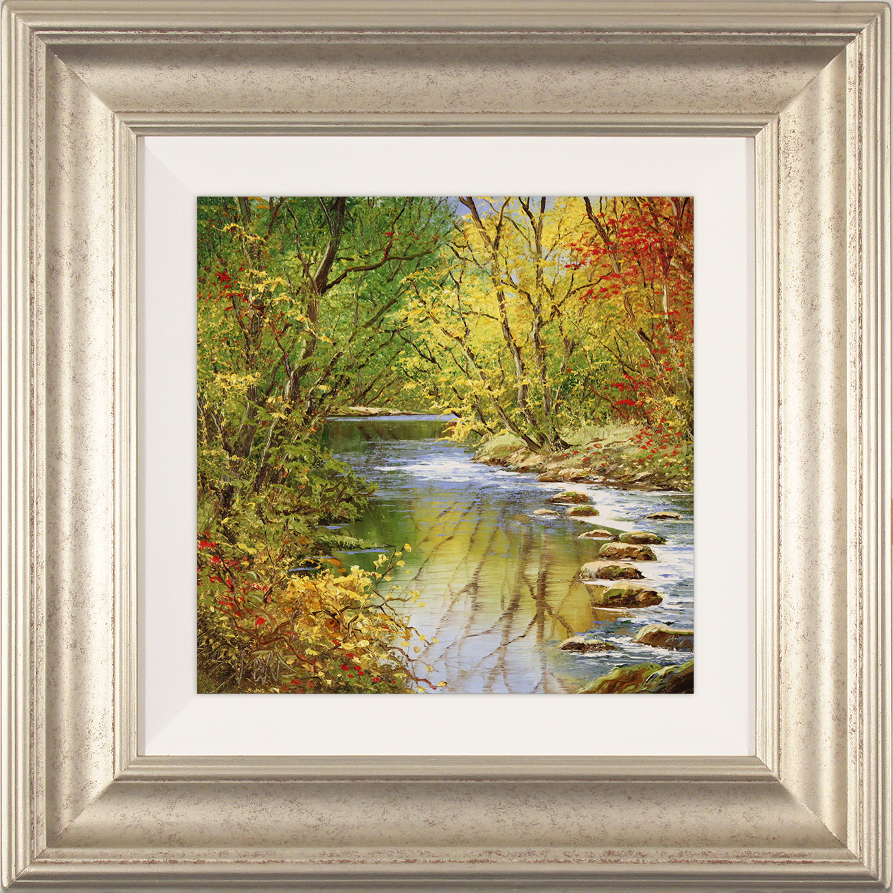 Terry Evans, Original oil painting on canvas, Golden Beck, click to enlarge