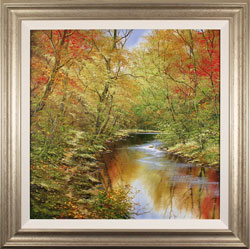 Terry Evans, Original oil painting on canvas, Colours of Autumn