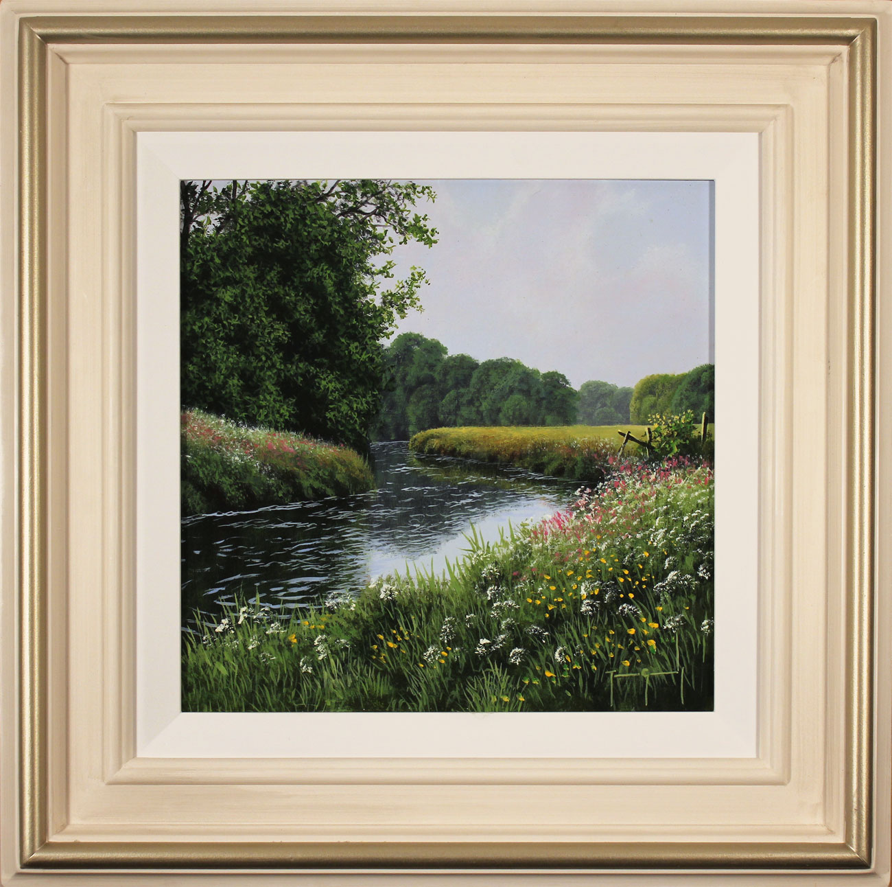 Terry Grundy, Original oil painting on panel, High Summer, click to enlarge
