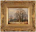 Vincent Selby, Original oil painting on panel, Winter, One of a Set of 'Four Seasons'