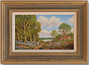 Vincent Selby, Original oil painting on panel, Country Scene