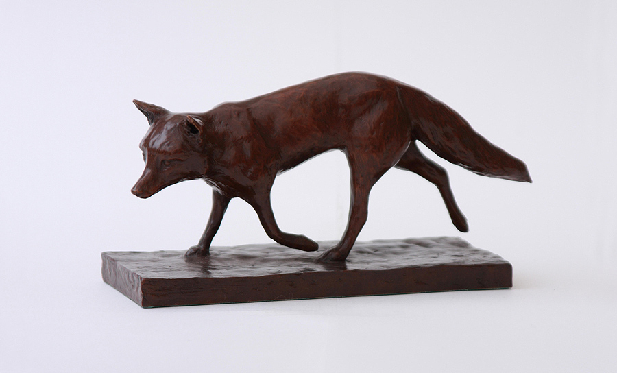 Wendy Hunt, Bronze, Fox Trot, click to enlarge