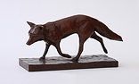 Wendy Hunt, Bronze, Fox Trot Large image. Click to enlarge