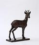Wendy Hunt, Bronze, Roebuck Large image. Click to enlarge