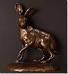 Wendy Hunt, Bronze, Hare Large image. Click to enlarge