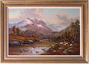 Wendy Reeves, Original oil painting on canvas, Scottish Highlands Large image. Click to enlarge