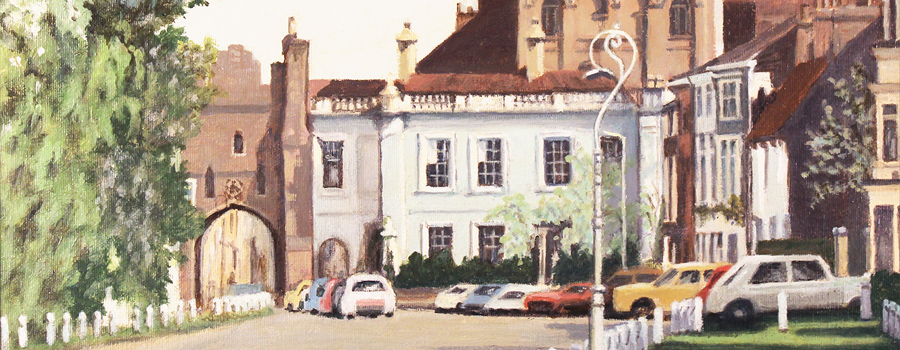Beverley Bar, original painting on canvas