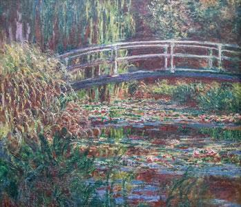 Claude Monet, Le Bassin aux Nymphéas, Harmonie Rose