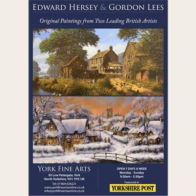 Edward Hersey & Gordon Lees 2013