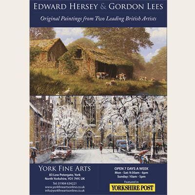 Edward Hersey & Gordon Lees 2014