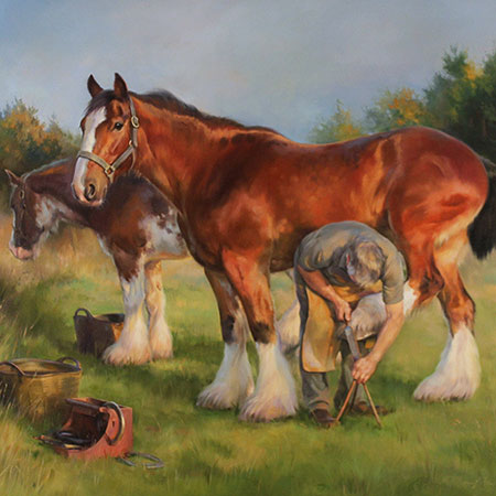 Equestrian Art: Companions and Champions
