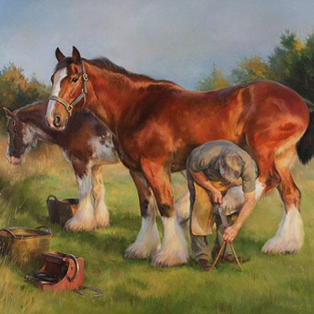 Equestrian Art: Companions and Champions
