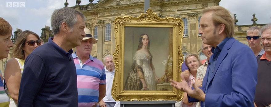 Restored Portrait Featured on Antiques Roadshow