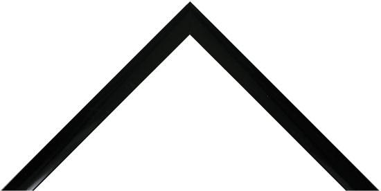 Narrow Black Gloss