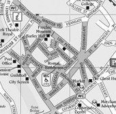 Map and Directions to York Fine Arts